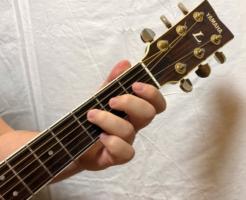 ギター正面からの写真