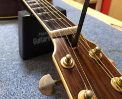 ギターネック調整 ヘッド側からのトラスロッドの回し方